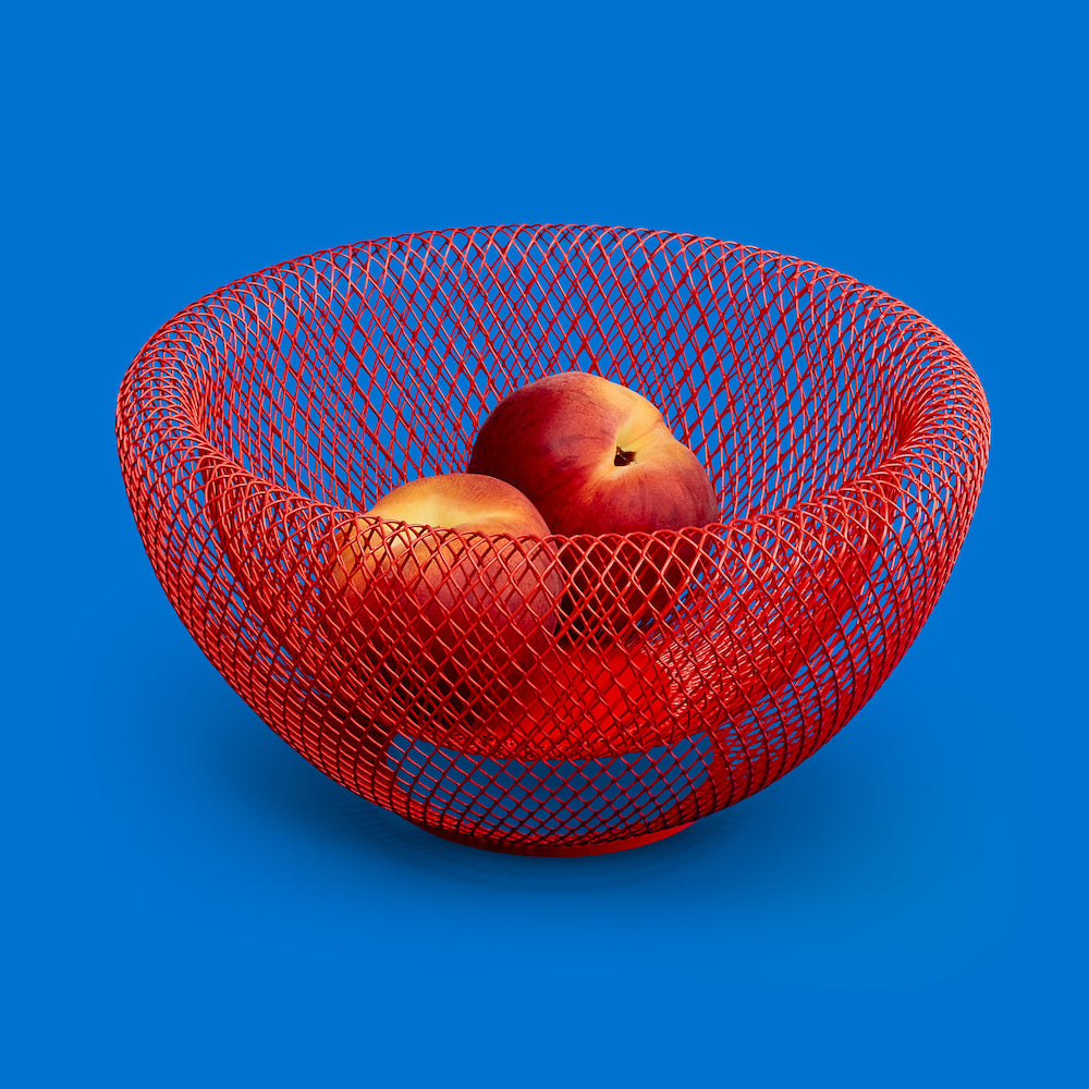 Bowl Wire Mesh - Red