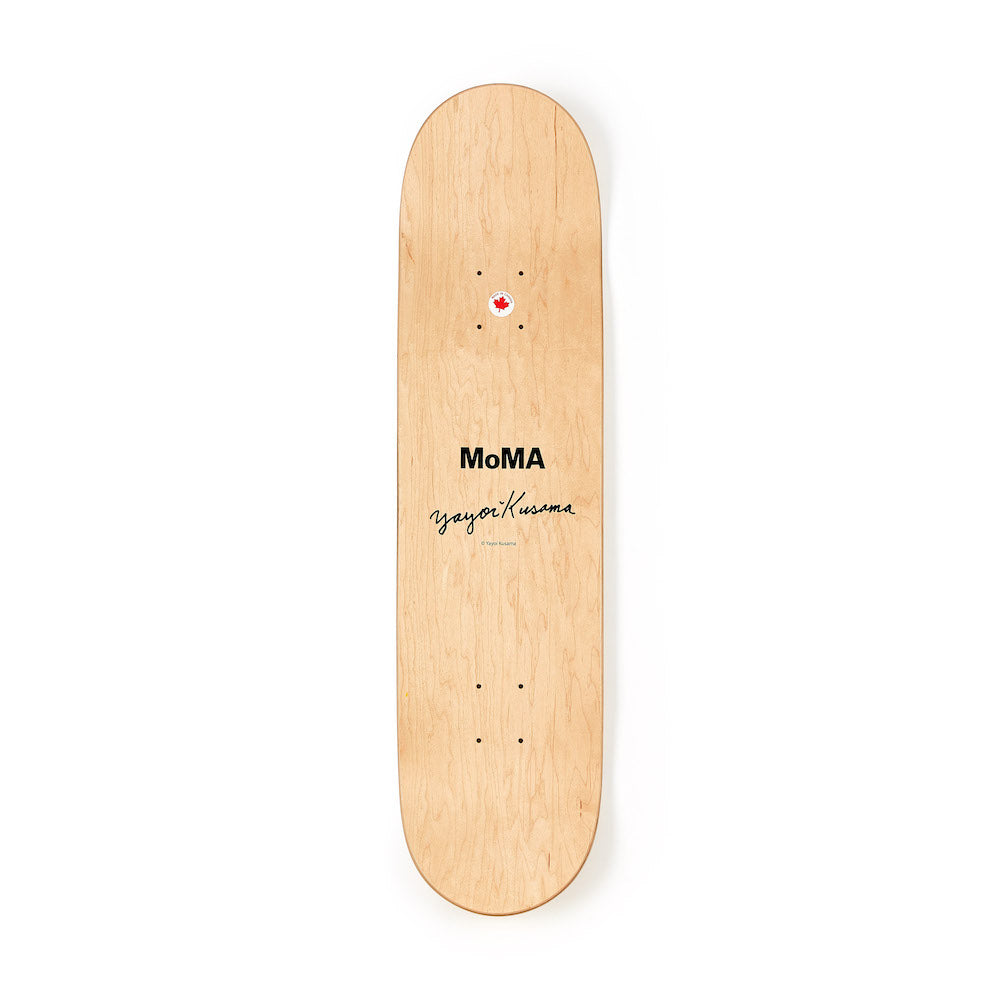 Kusama Skateboard - Red Small Dots