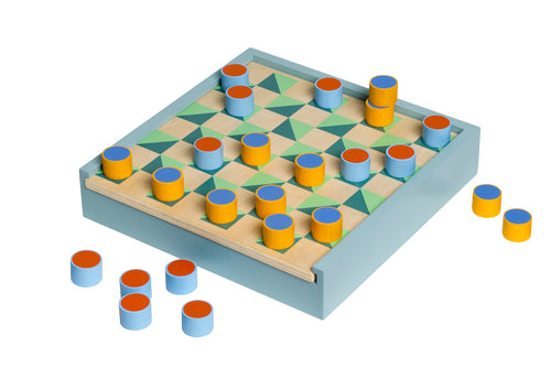 2-in 1 Chess & Checkers Set