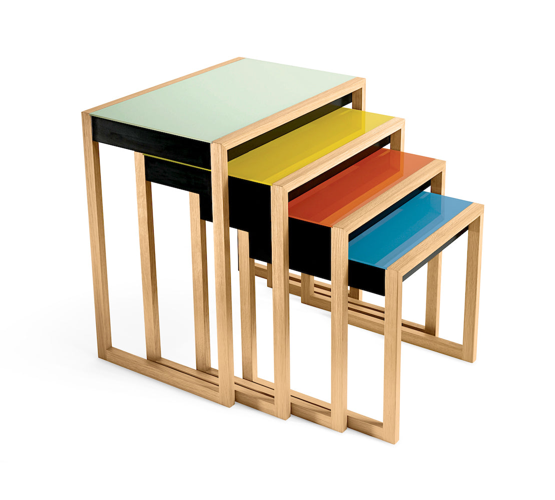 Nesting Tables - Josef Albers