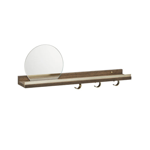 Anywhere Shelf 1058 Mirror - Smoked Oak