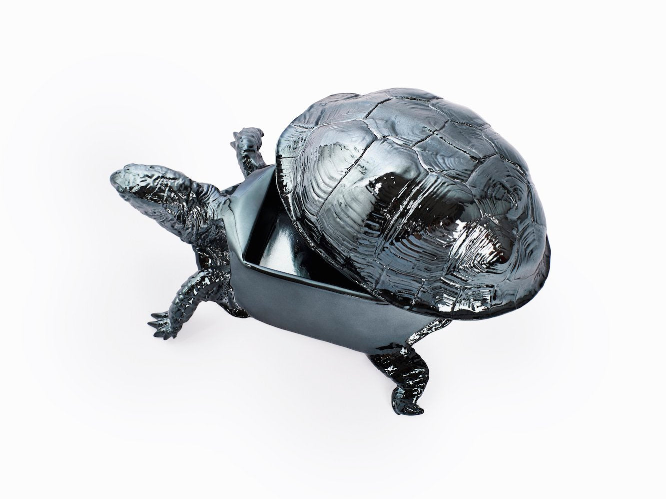 Turtle Box - Gun Metal