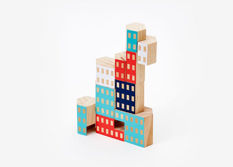 Balancing Blocks - Multicolor