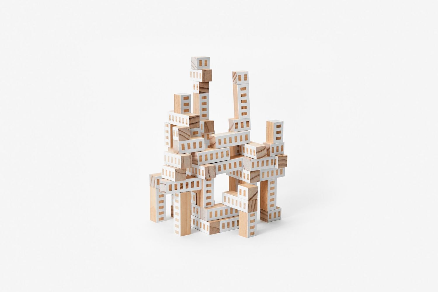 Blockitecture - Tower - White