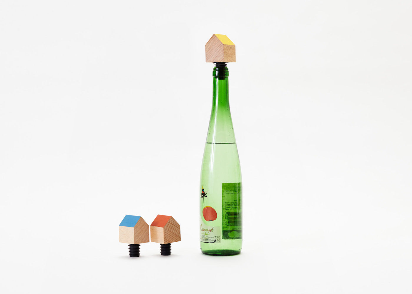 Bottle House - Blue