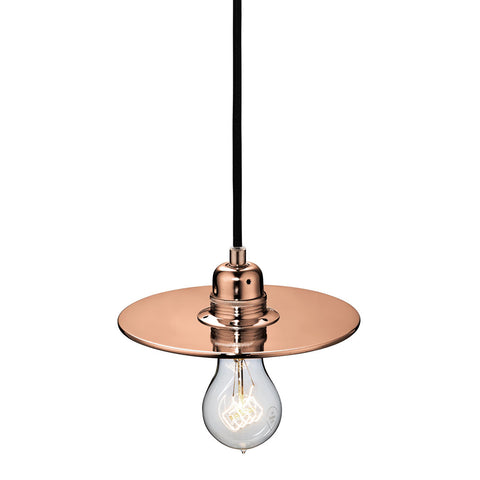 Flat One 215 Lamp Shade - Copper