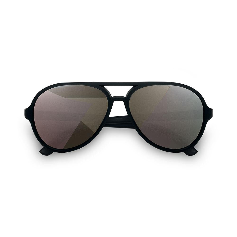 Hipsterkid Classics Aviator Kids Glasses - Black (3-6 years)