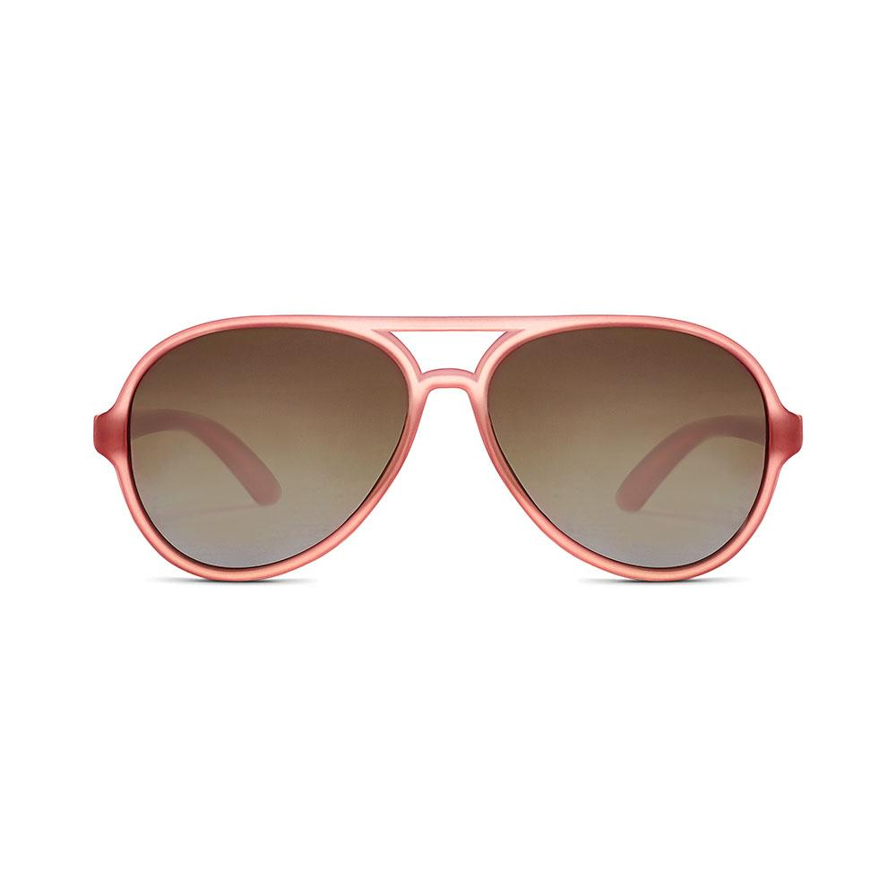 Hipsterkid Golds Aviator Kids Sunglasses - Rosé (3-6 years)