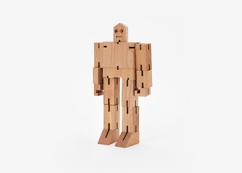 Cubebot - Small - Julien Natural - POP Display 12 pieces