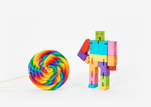 Cubebot - Small - Multicolor