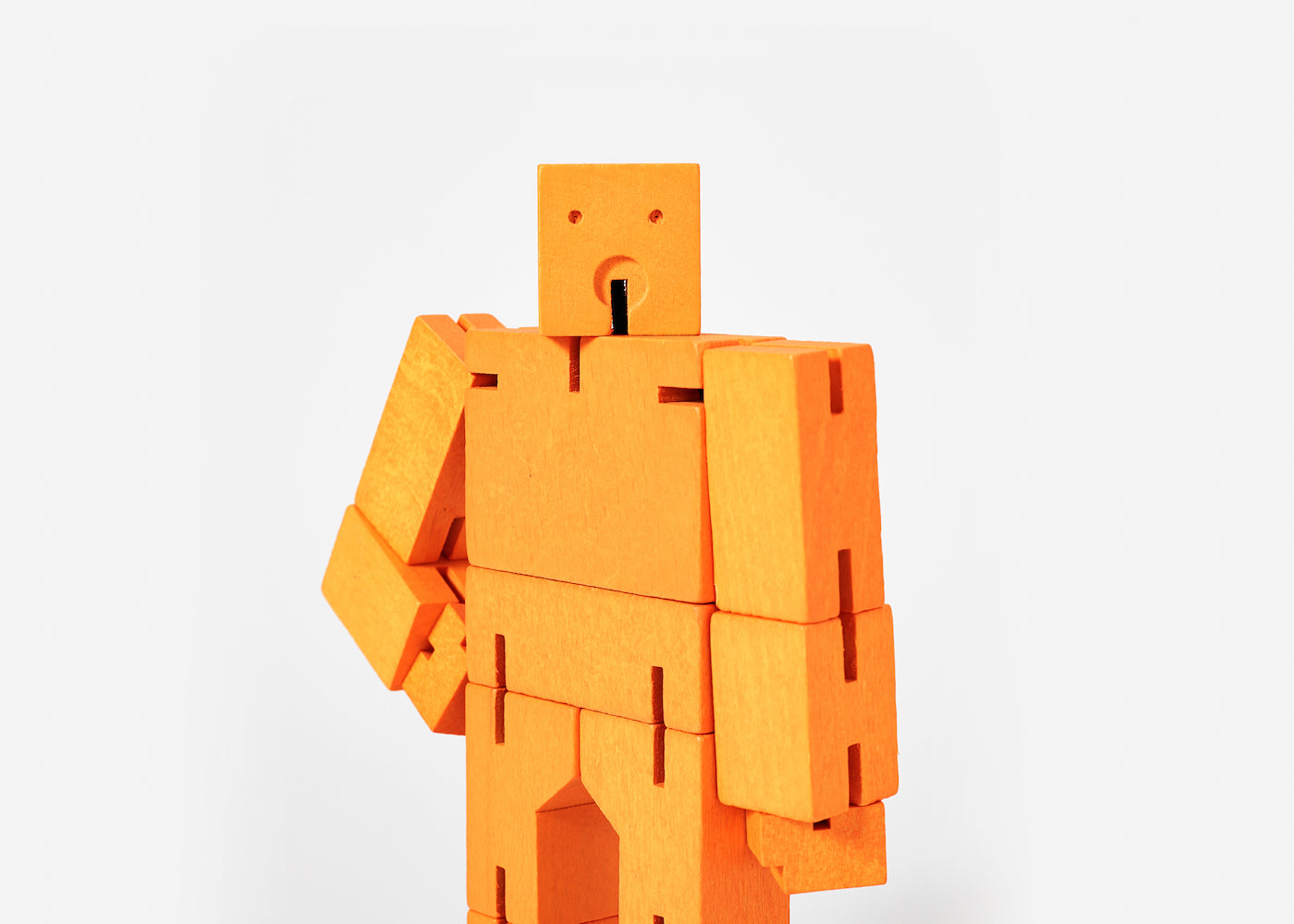 Cubebot - Small - Orange