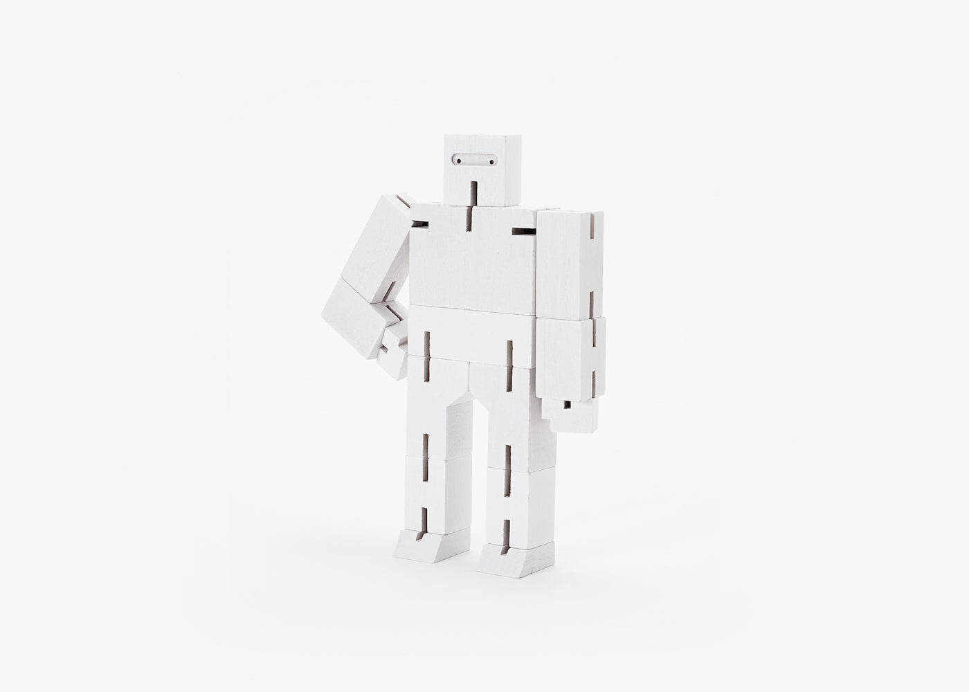 Cubebot - Small - White
