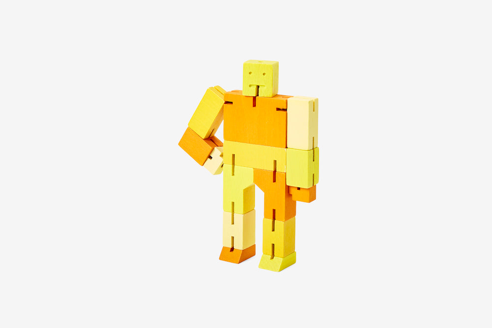 Cubebot - Small - Yellow Multi
