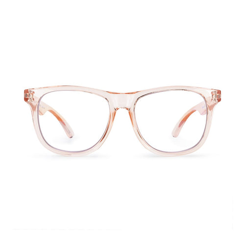 Hipsterkid Blue Light Blocking Glasses - Blush (3-6 years)