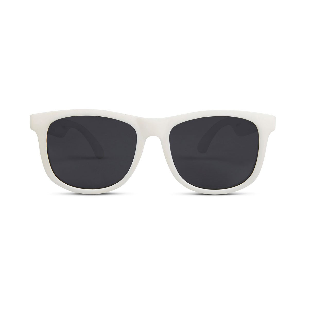 Hipsterkid Classics Baby Sunglasses - White (0-2 years)