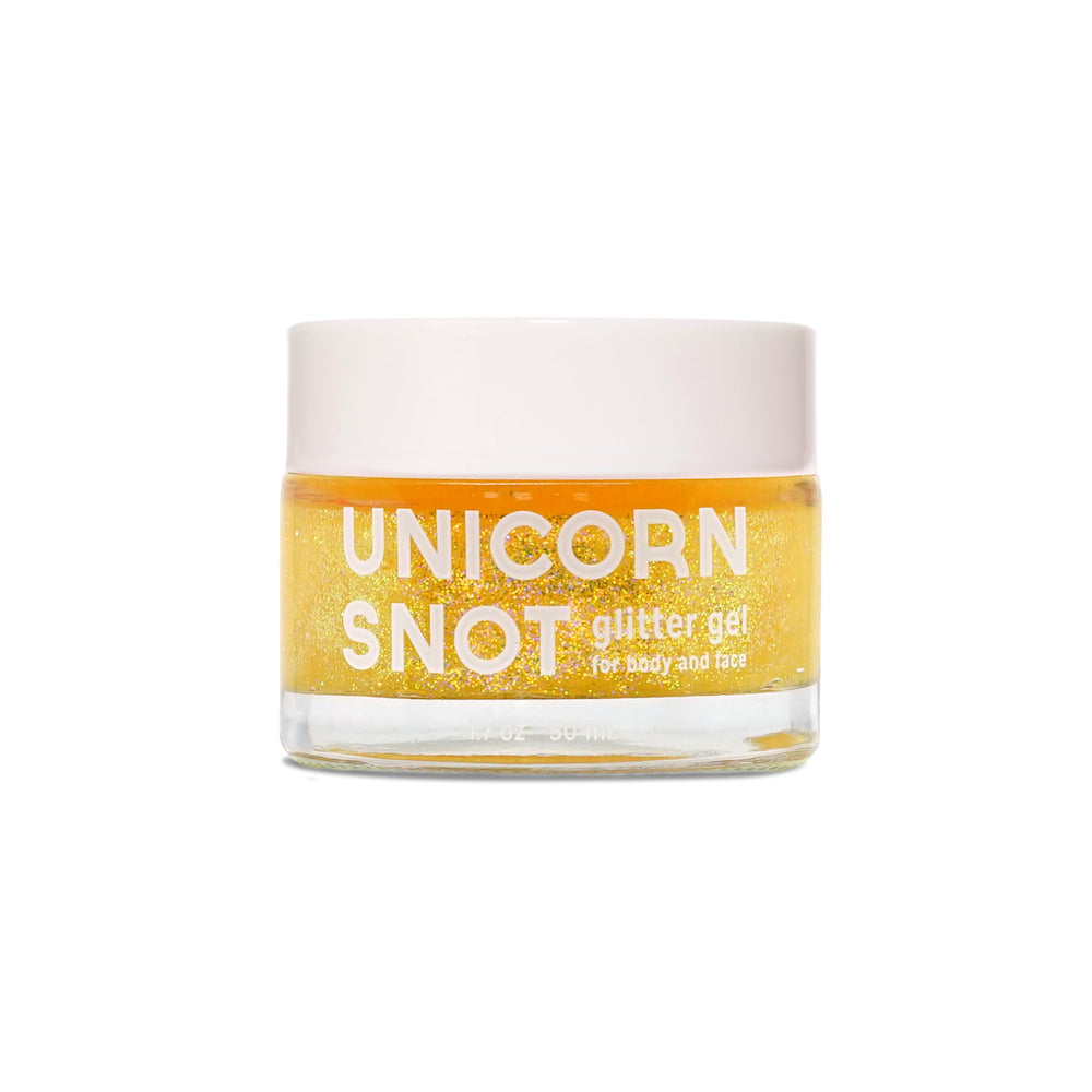 Unicorn Snot - Face & Body Glitter Gel - 50 ml - Gold