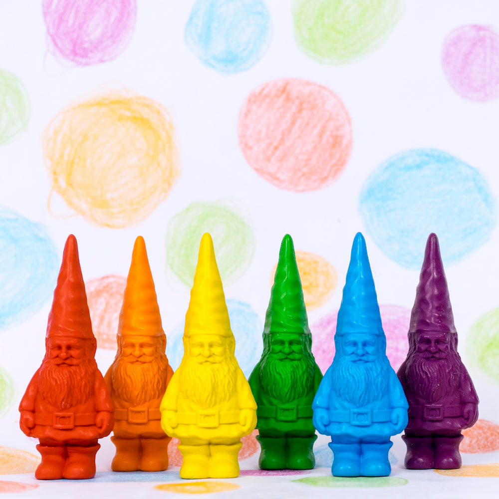 Bavarian Gnome Crayons - Set of 6