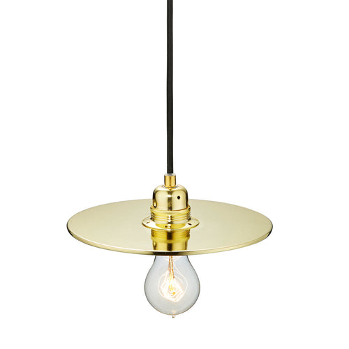 Flat One 215 Lamp Shade - Brass