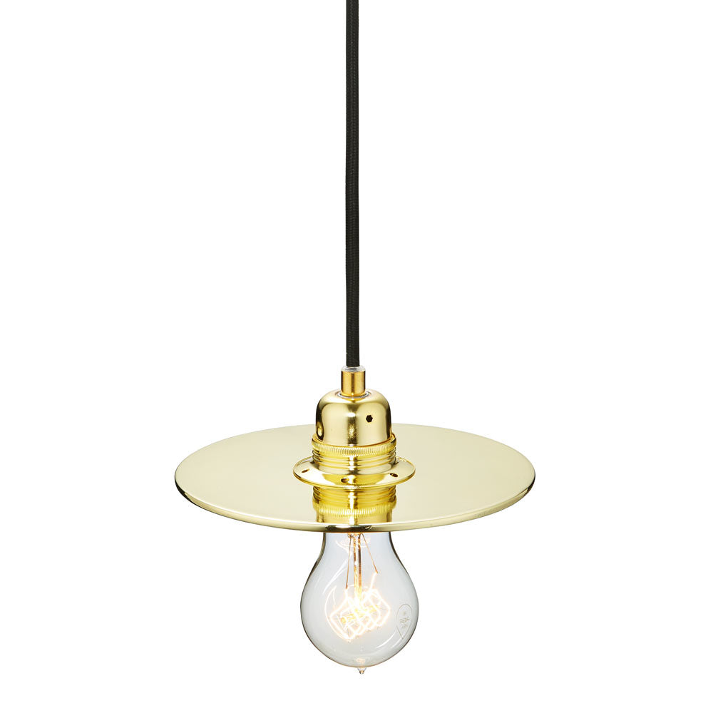 Flat One 182 Lamp Shade - Brass