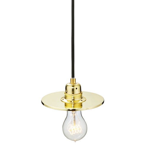Flat One 152 Lamp Shade - Brass