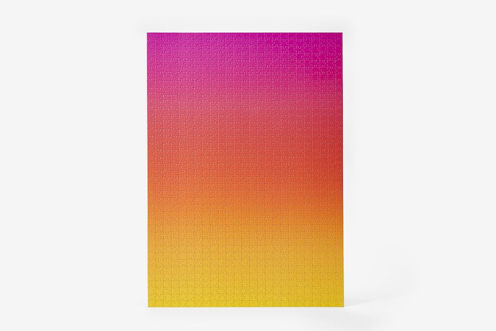 Gradient Puzzle - Pink/Yellow - 1000 pieces