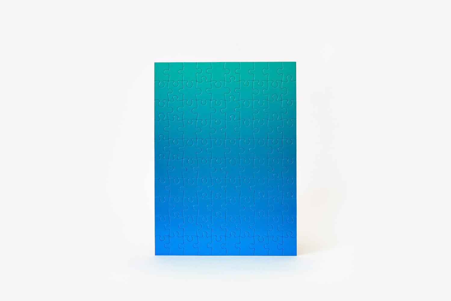 Gradient Puzzle - Blue/Green - 100 pieces