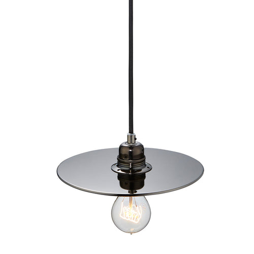 Flat One 215 Lamp Shade - Gun Metal