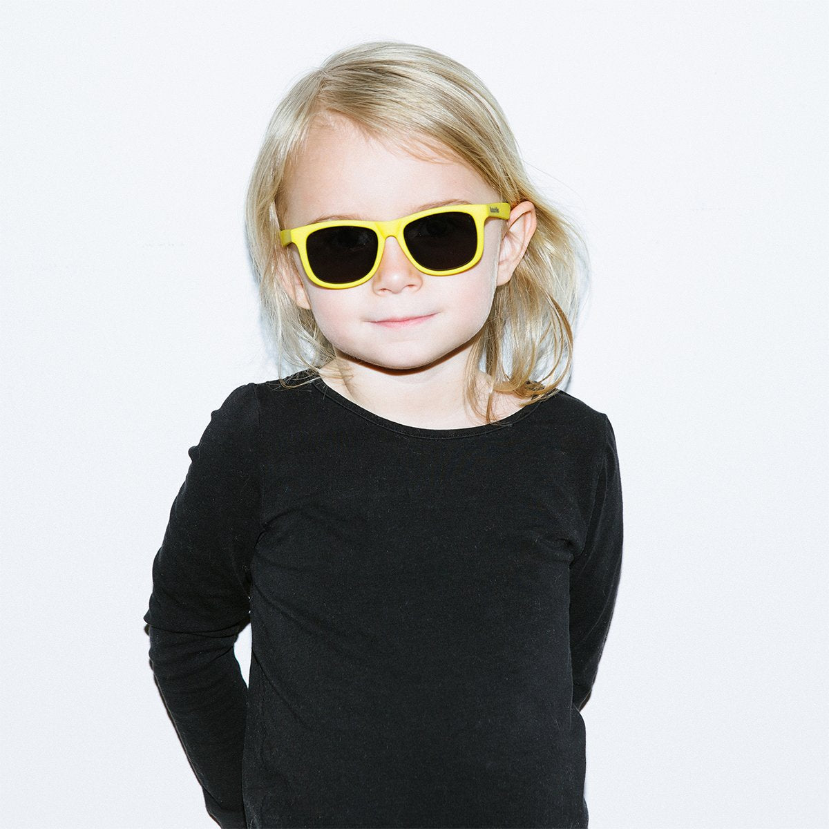 Hipsterkid Classics Kids Sunglasses - Yellow (3-6 years)