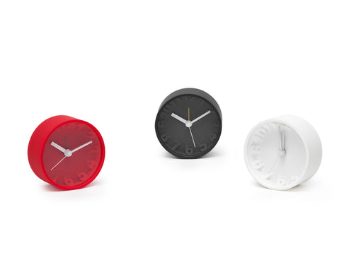 Carbon Desk Clock - Mixed Colors