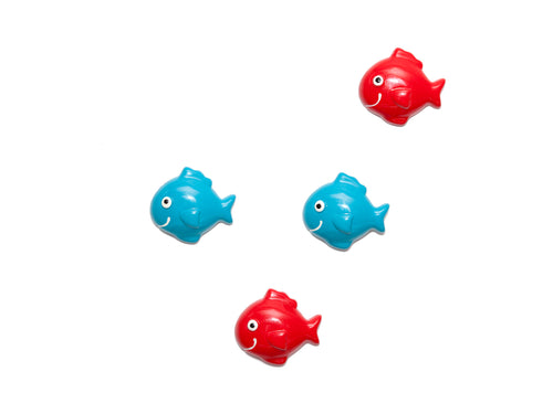 Set of 4 Magnets - Fish