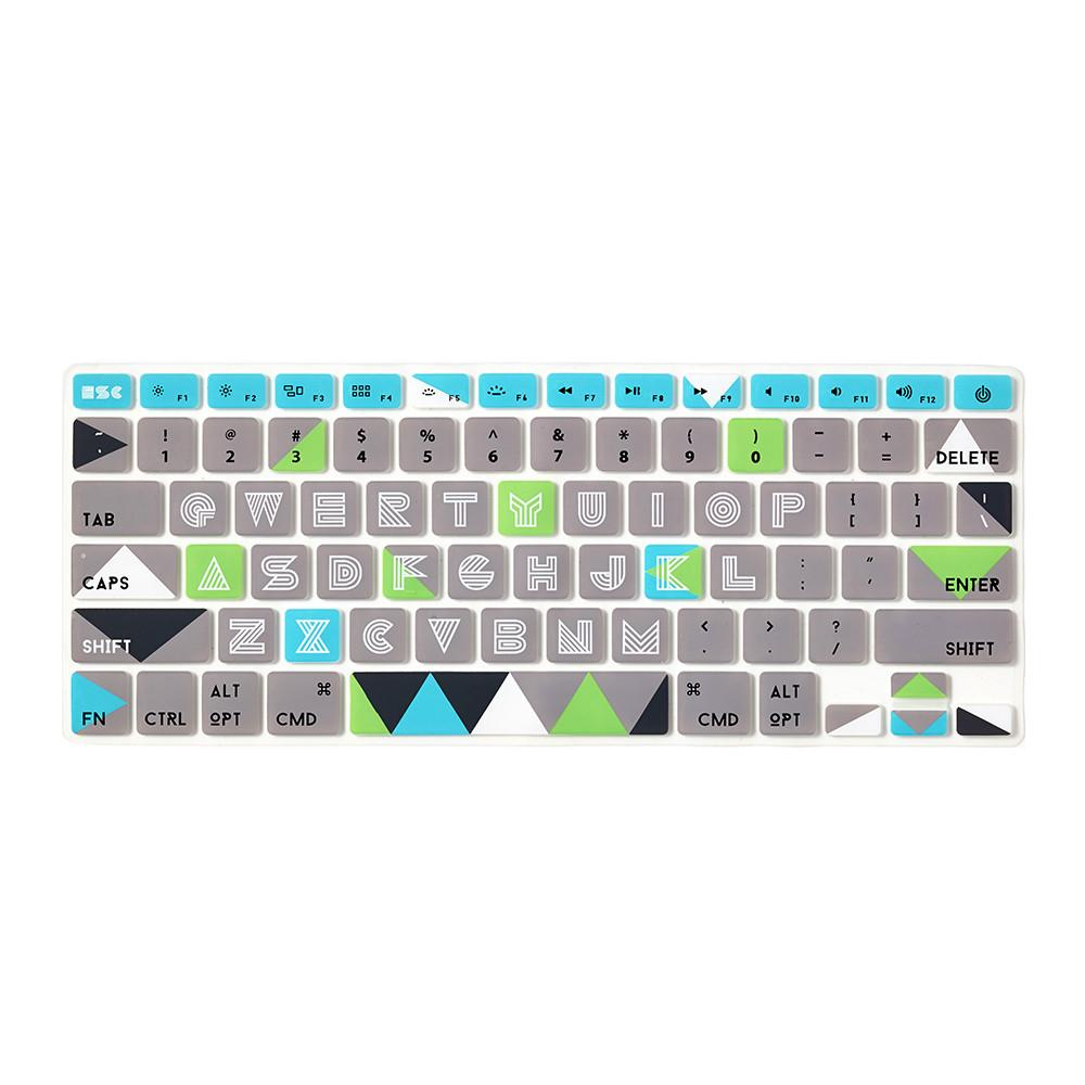 Flapjacks - Keyboard Cover Mac - Limelight - Azerty