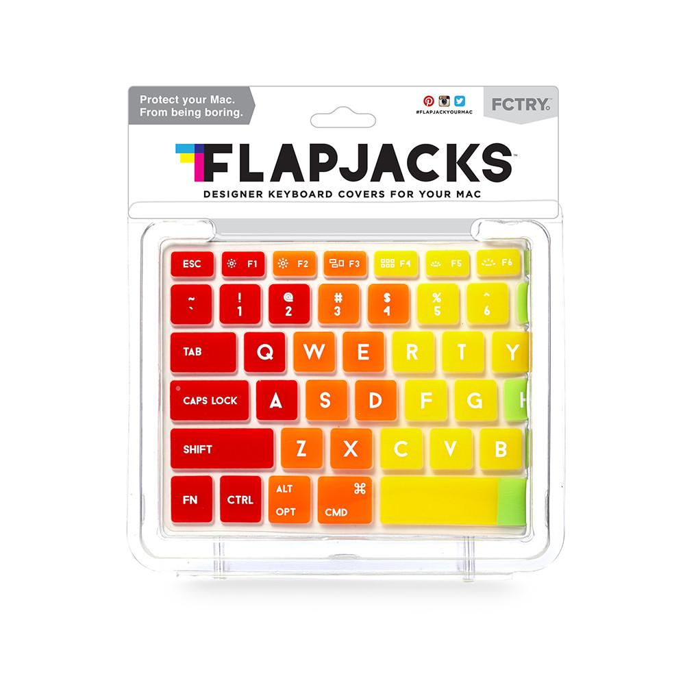 Flapjacks - Keyboard Cover Mac - Rainbow - Qwerty