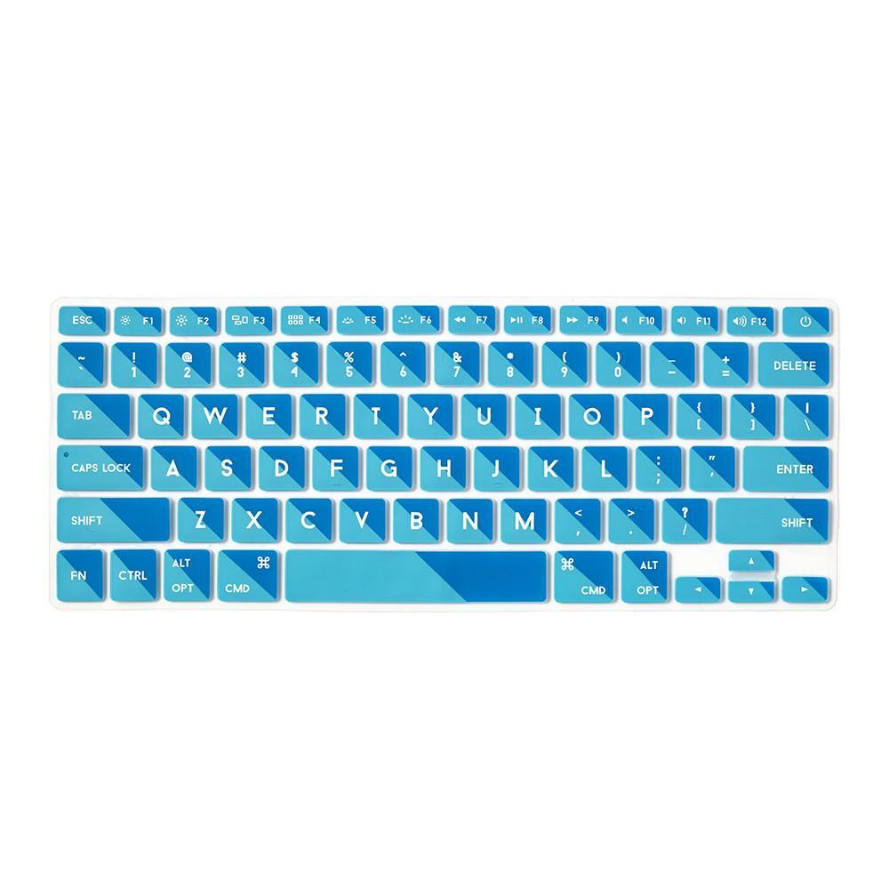 Flapjacks - Keyboard Cover Mac - 2-Tone Teal - Qwerty