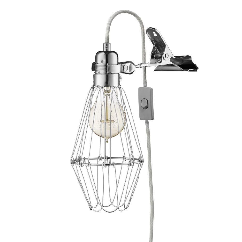 Work Lamp de Lux - Silver