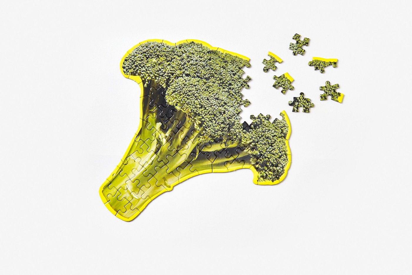 Little Puzzle Thing - Broccoli