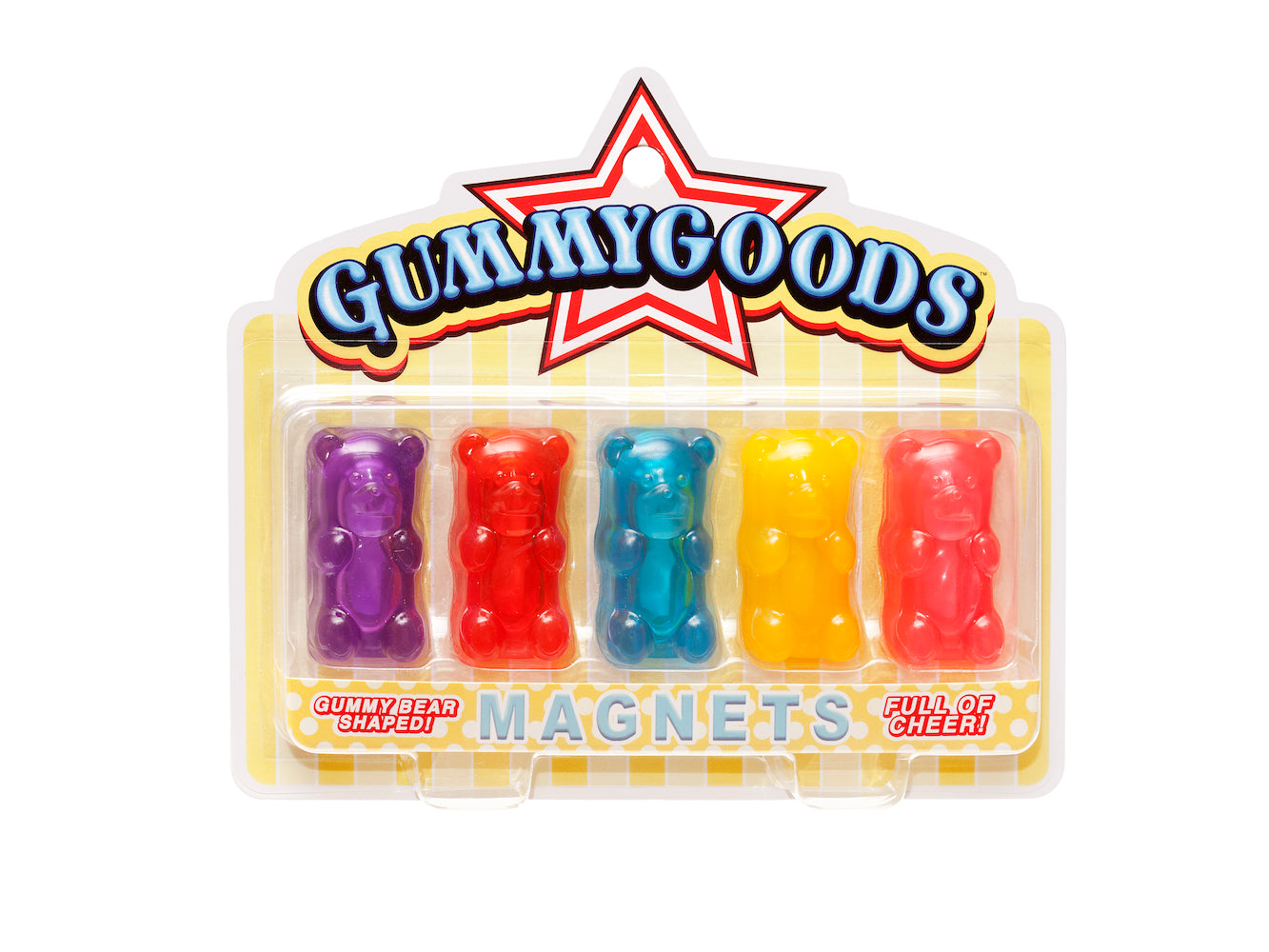 Gummygoods - Set of 5 Magnets - Mixed Colors
