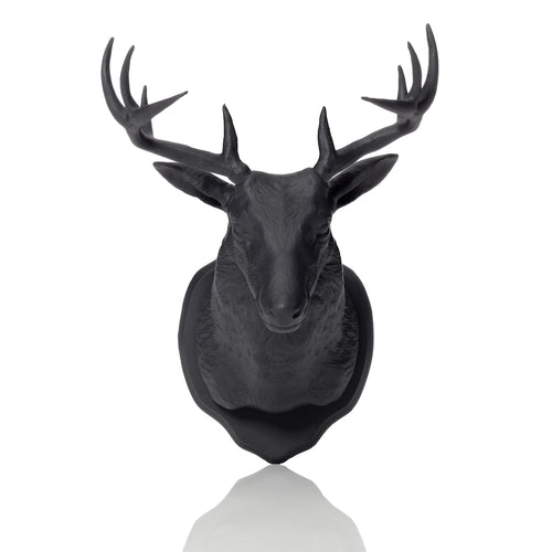 Urban Taxidermy - Magnet & Wall Hook - Black