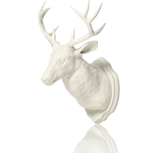 Urban Taxidermy - Magnet & Wall Hook - White