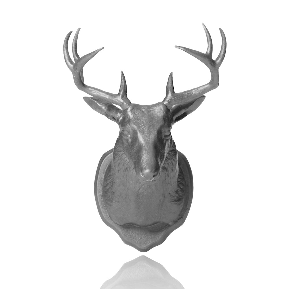 Urban Taxidermy - Magnet & Wall Hook - Silver