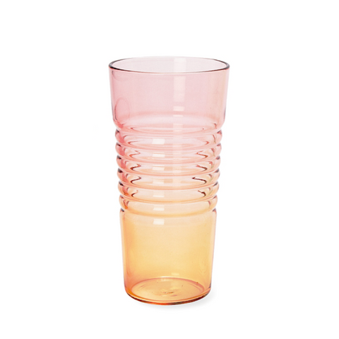 Ombré Glass - Low - Pink/Orange