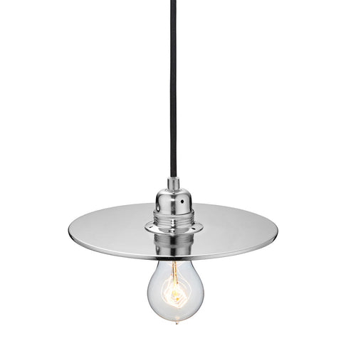 Flat One 215 Lamp Shade - Silver