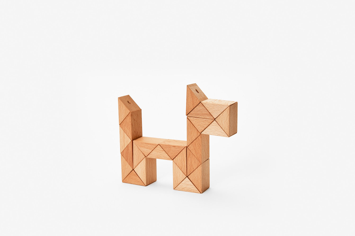 Snake Blocks - Medium - Natural