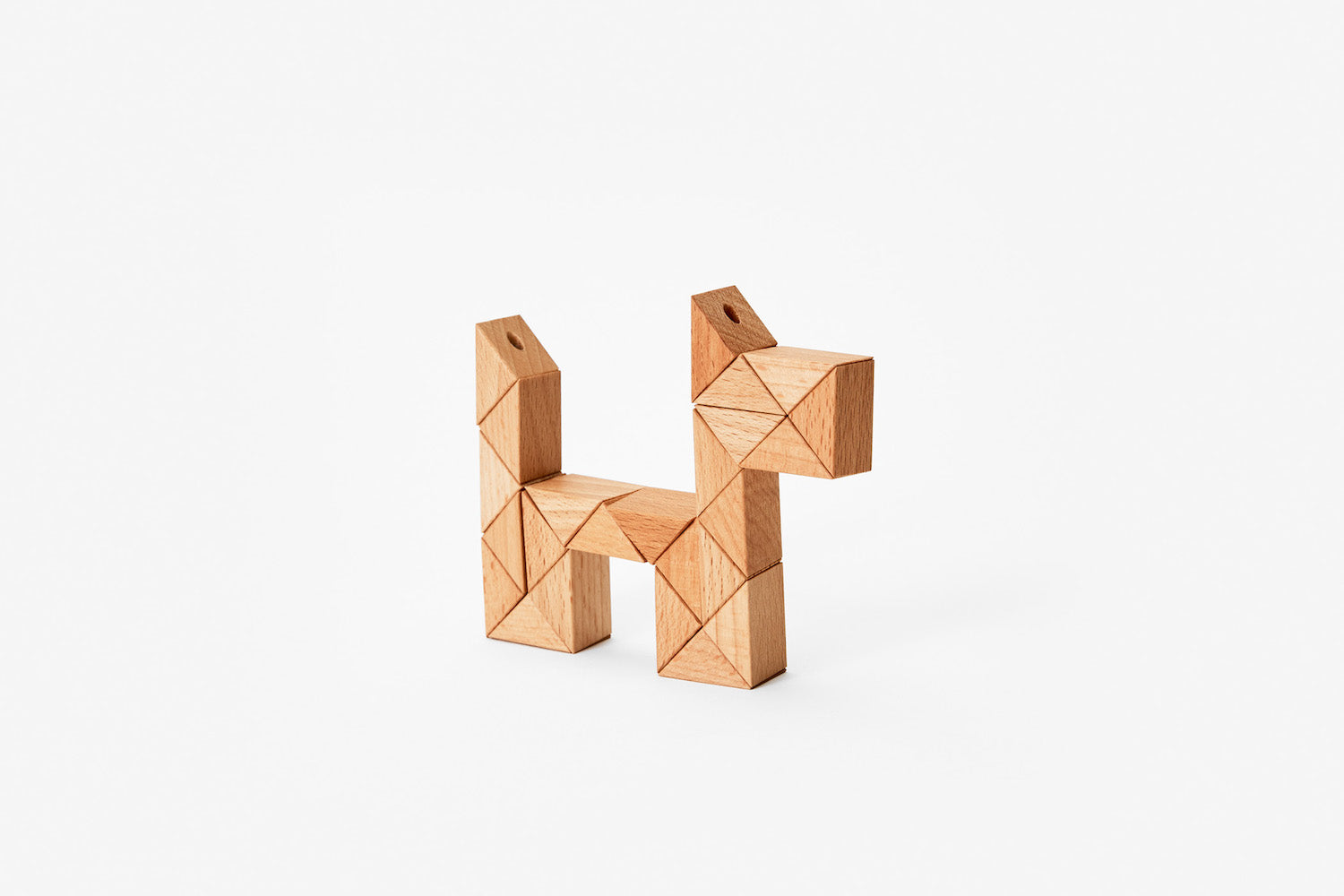 Snake Blocks - Small - Natural