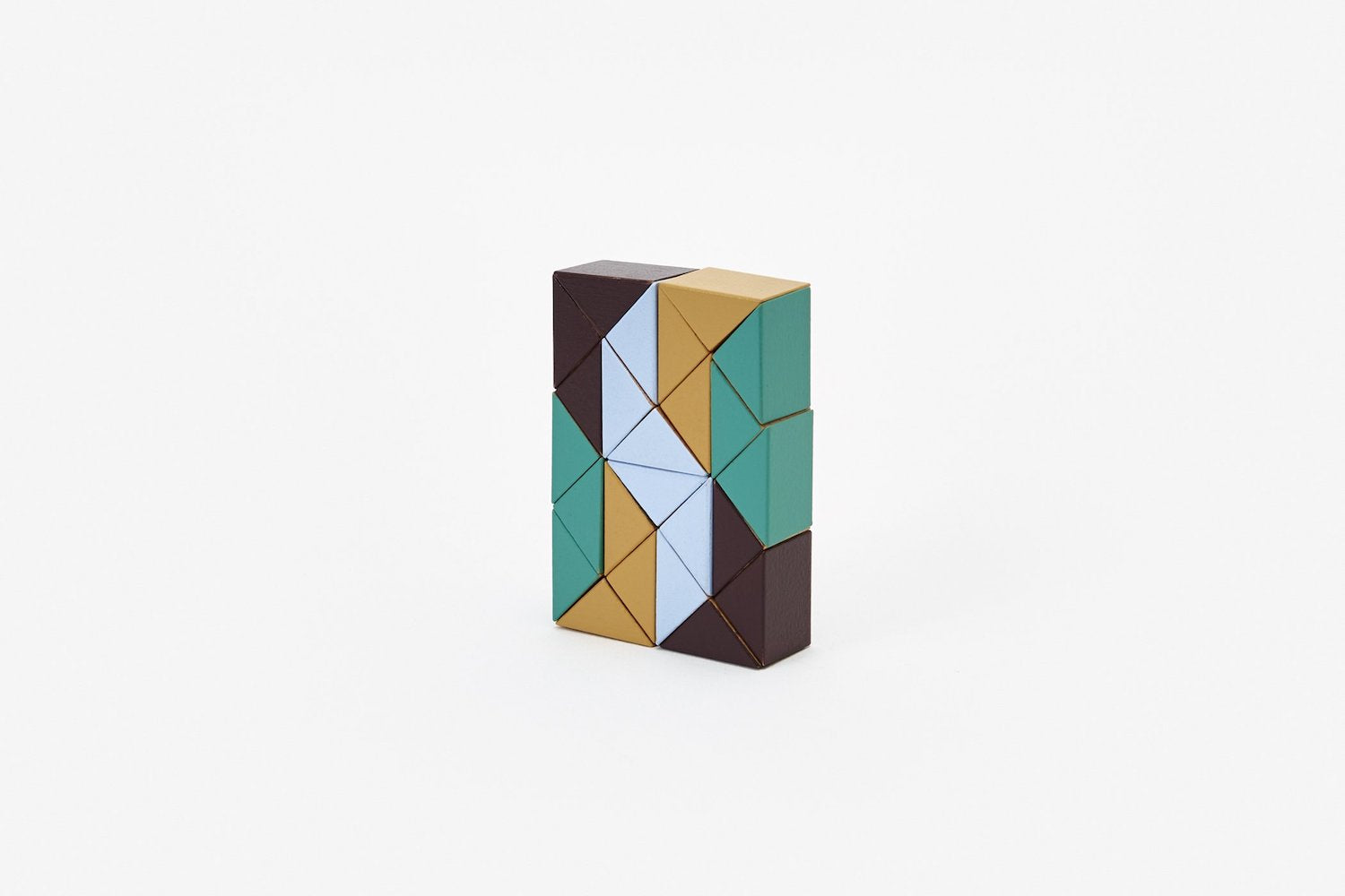 Snake Blocks - Small - Beige/Green