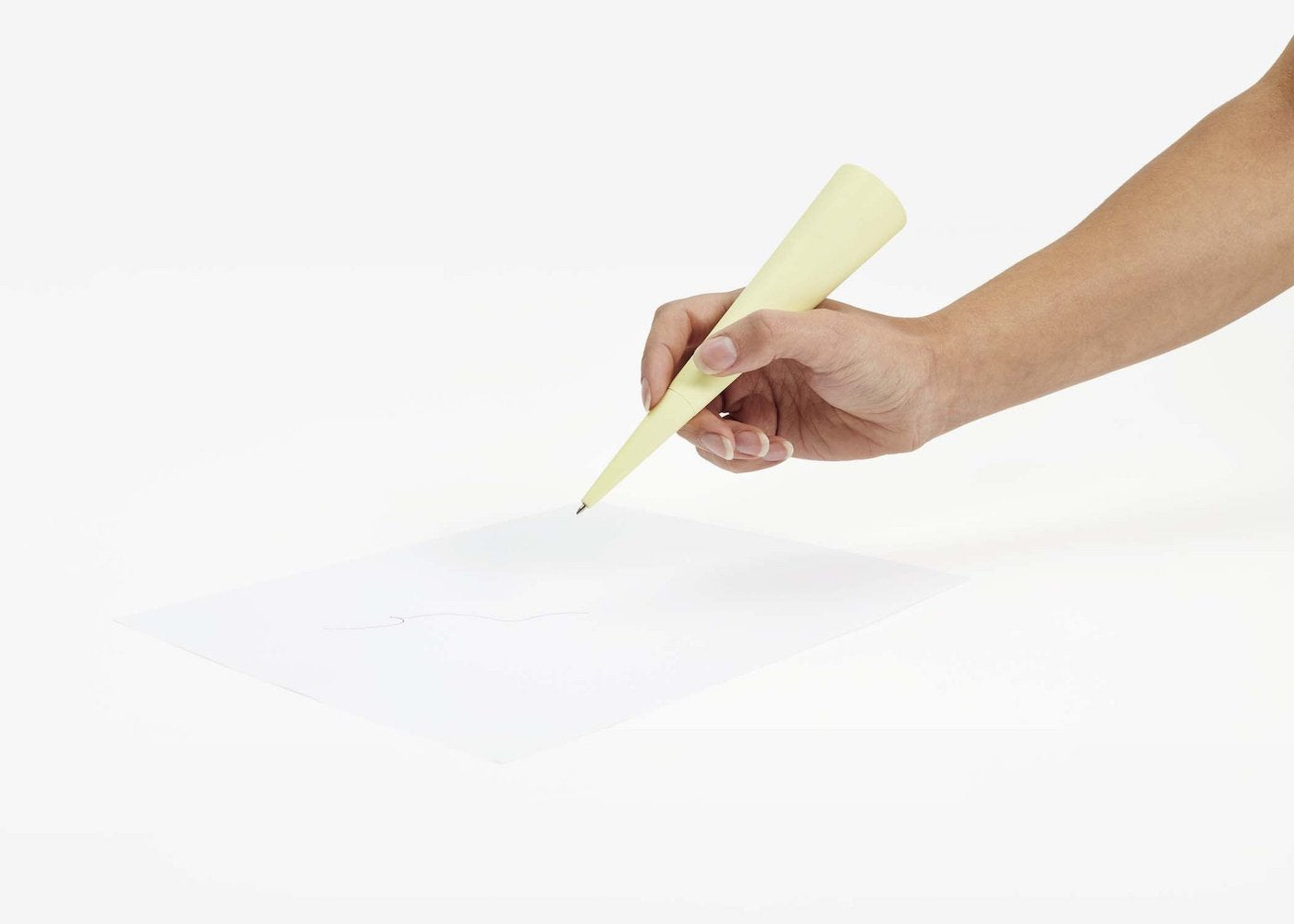 Standing Pen - Circle - Yellow