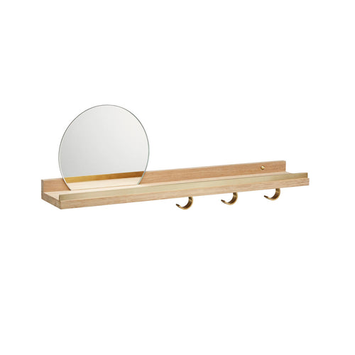Anywhere Shelf 1058 Mirror - Oak