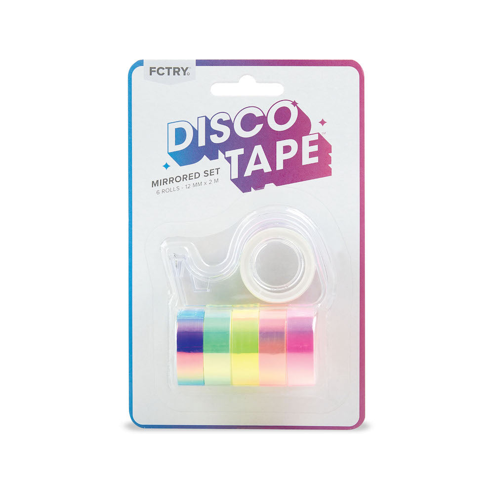 Disco Tape - Mirrored - Set of 6