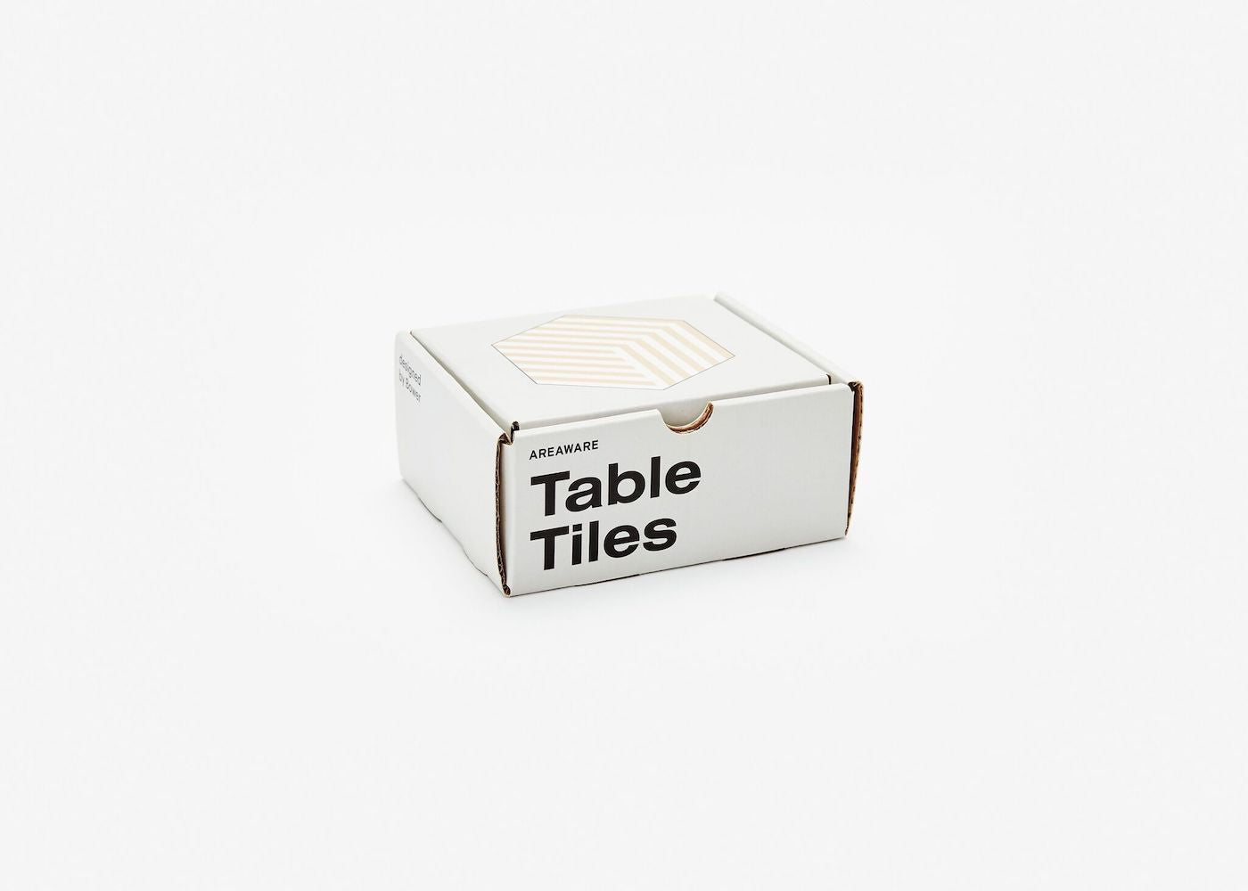 Table Tiles Optical - White