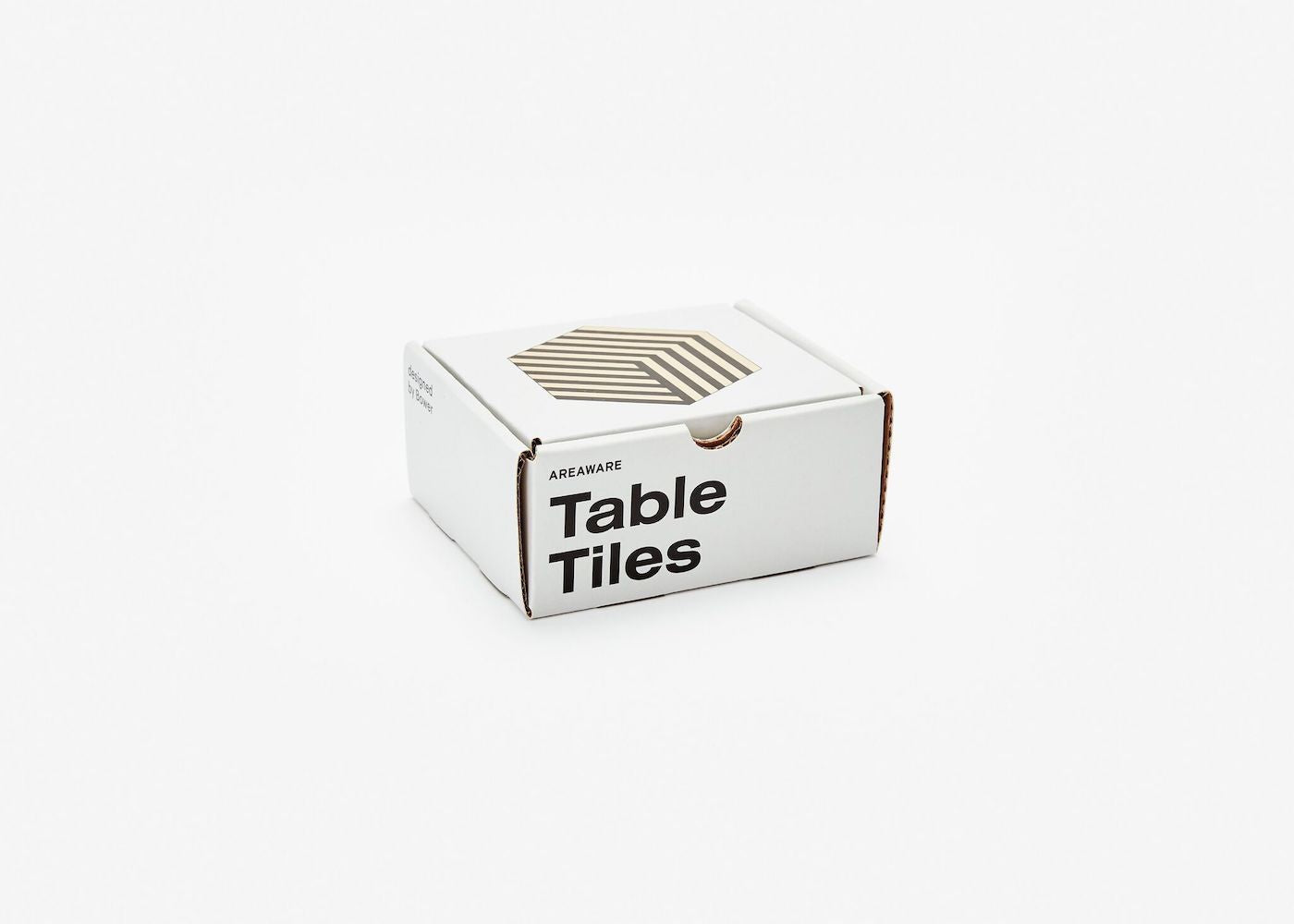 Table Tiles Optical - Black