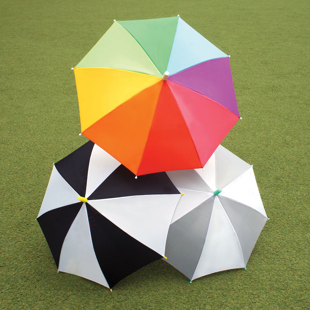 Hipsterkid Umbrella - Rainbow
